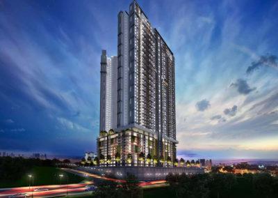 Residensi Bintang Bukit Jalil North Tower Night View