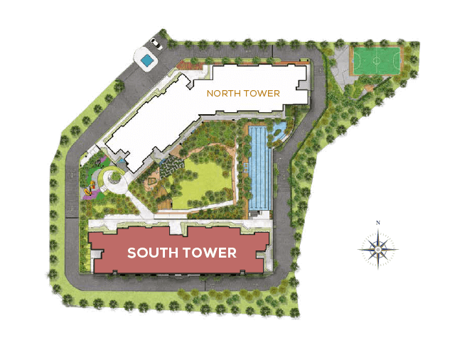 Residensi Bintang Bukit Jalil Site Plan