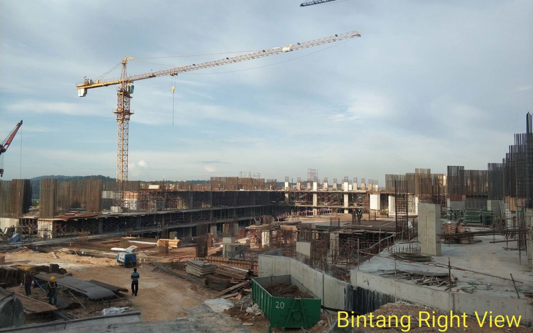 Site Progress As At January 2020