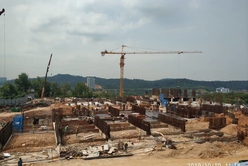 Site Progress As At October 2019